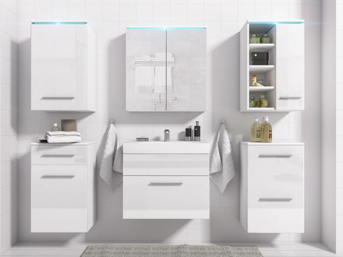 Maggie kopalniško pohištvo WHITE- visoki sijaj