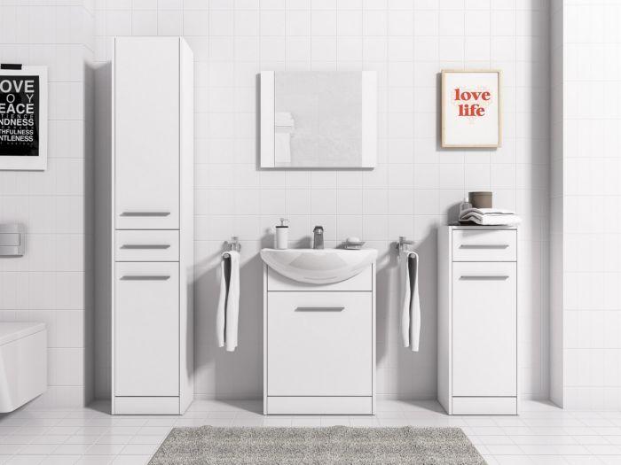 Nika kopalniško pohištvo White - mat