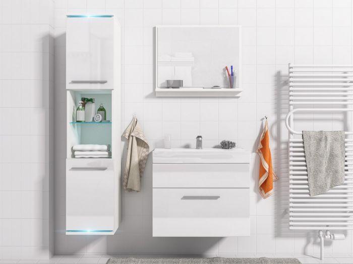 Lisa kopalniško pohištvo White- visoki sijaj
