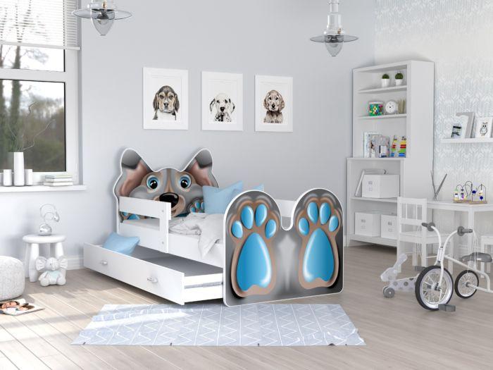 Otroška postelja Psiček 2 - 140/160/180/200 x 80 cm