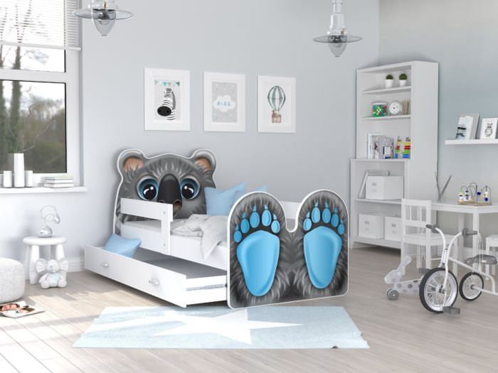 Otroška postelja Koala 140/160/180/200 x 80 cm