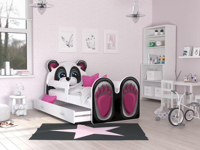 Otroška postelja Panda 140/160/180/200 x 80 cm