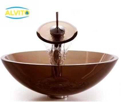 Kopalniški umivalnik Alvito Steklo HC6024