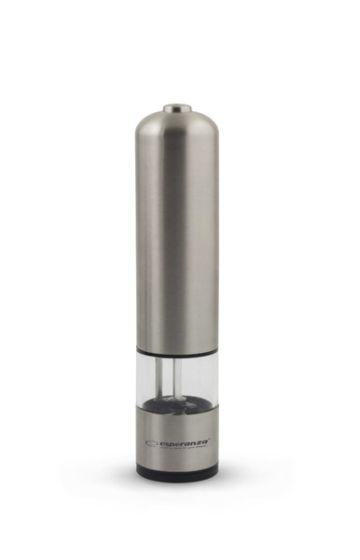 Baterijski LED mlinček za poper/sol Esp Rawak - nerjaveče jeklo