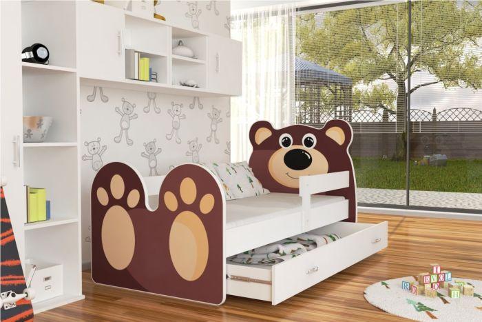Otroška postelja Medvedek 140/160/180/200 x 80cm